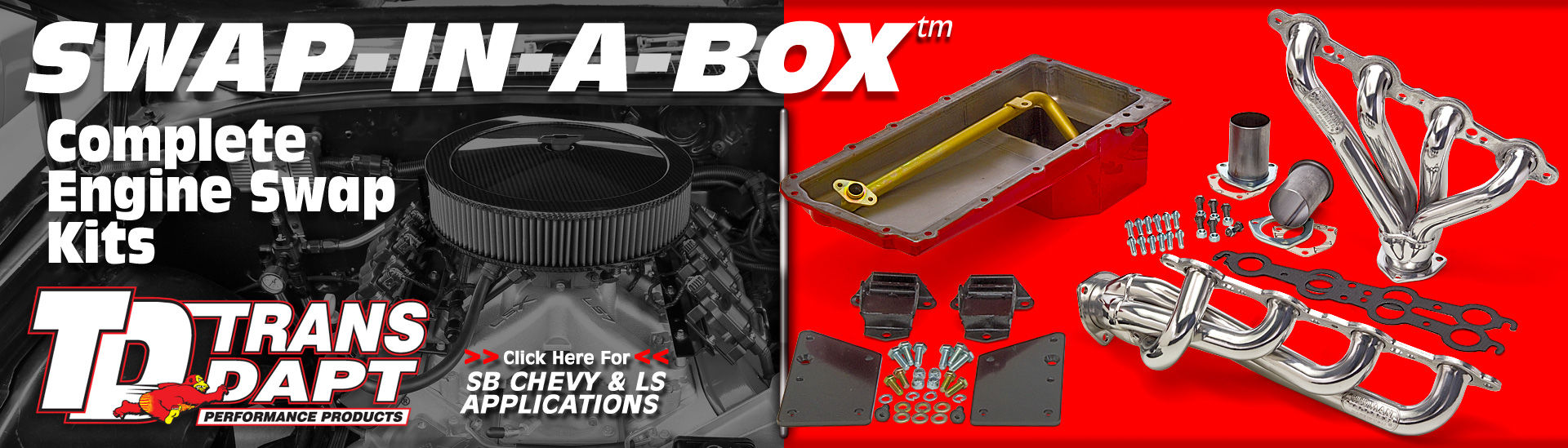 Trans-Dapt Engine Swap-in-a-box kits