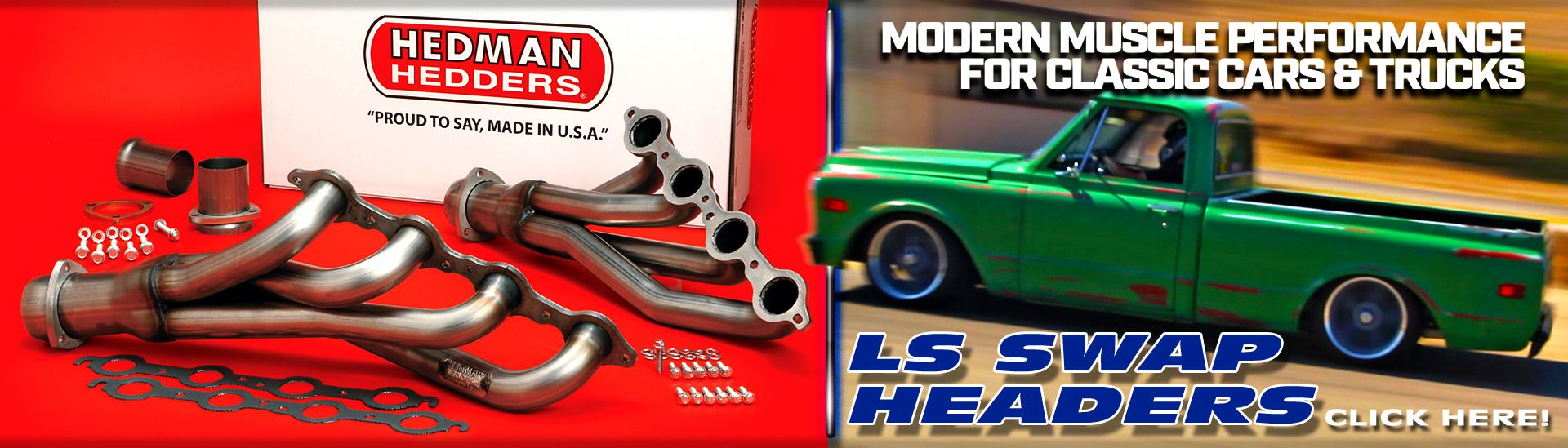 LS Engine Swap Headers For Trucks