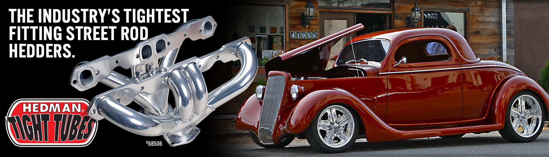 Tight Tube Street Rod Headers