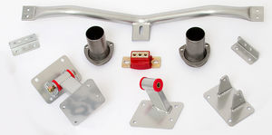 LS CONVERSION MOUNT KIT; 1967-69 F-Body and '68-74 X-Body with T-56 Transmission