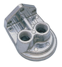 "Remote Transmission Filter Mounting Base and Filter Nipple (Only);1/4"" NPT Ports"