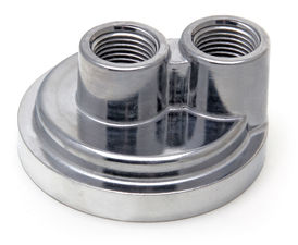 "Spin-on Oil Filter Bypass; 2 1/2"" ID; 2 3/4"" OD Flange w/ 20mmX1.5 Threads"