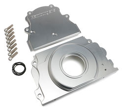 Two-Piece Timing Cover for LS1 Engines- Billet Aluminum