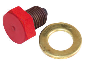 "Replacement Magnetic Drainplug and Seal; 1/2""-20"