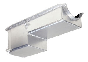 FABRICATED ALUMINUM OIL PAN; 65-90 BB CHEVY 396-454 (NOT GEN V OR VI)