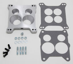 "7/8"" Tall, Holley 4BBL to Quadrajet Manifold Carburetor Adapter -Cast Aluminum"
