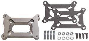 "1/2"" Tall, Holley 2BBL to Rochester Manifold Carburetor Adapter -Cast Aluminum"