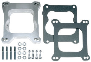"3/4"" Tall, Holley 4BBL to Quadrajet- REVERSIBLE Carburetor Adapter-Cast Aluminum"