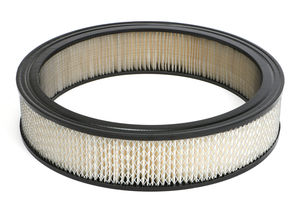 "ROUND High Flow Air Filter Element (PAPER) 14"" Diameter; 3"" Tall"