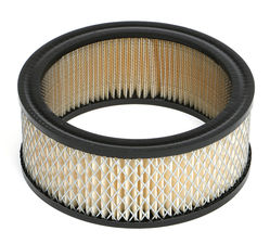 "ROUND High Flow Air Filter Element (PAPER) 6-3/8"" Diameter; 2-3/8"" Tall"