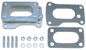 "1-3/4"" Tall, Weber DGV to Toyota 20R Carburetor Adapter -Cast Aluminum"
