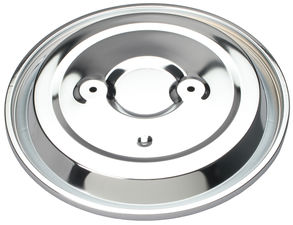 """O.E. Style"" Air Cleaner Top CHROME- 94-Up 4.3L S-10 and S-15 (Dual wing nut)"