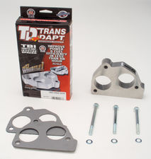 86-91 GM Truck/SUV w/4.3L V6, 5.0L,5.7L V8- SWIRL-TORQUE Throttle Body Spacer