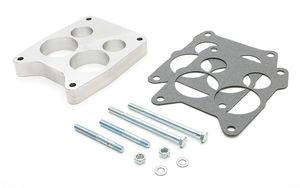 "1"" QUADRAJET - Ported; BILLET ALUMINUM Carburetor Spacer"