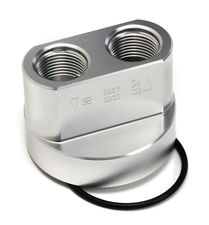SPIN-ON Bypass; FORD Engines; 22mm X 1.5 Threads; -12AN Ports- Billet Aluminum