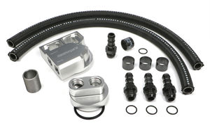 BILLET SINGLE OIL FILTER RELOCATION KIT-DODGE CUMMINS DIESEL