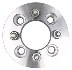 "4 LUG Wheel Adapters;100mm WHEEL Dia;4.25"" HUB Dia;12mmx1.5 Thread (pr)-ALUMINUM"