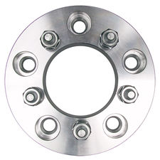"5 LUG Wheel Adapters;4.5"" WHEEL Dia;135mm HUB Dia;12mmx1.5 Thread (pr)- ALUMINUM"