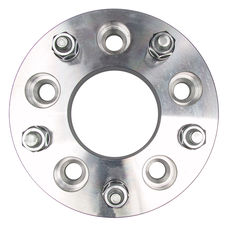 "5 LUG Wheel Adapters;135mm WHEEL Dia;5"" HUB Dia;12mmx1.5 Thread (pr)- ALUMINUM"