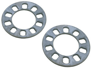 "5 LUG Disc Brake Spacers; 4-1/2"" to 5"" Bolt Circle Diameters; 1/4"" Thick (Pr)"