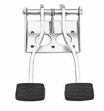DUAL SWING PEDALS (Universal fit); Fits Various Bendix Master Cylinders