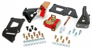 55-57 CHEVY (TRI-5) LS ENGINE SWAP MOUNT KIT WITH POLYURETHANE MOUNT PADS