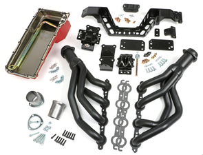 SWAP IN A BOX KIT-LS ENGINE IN 67-69 F-BODY; 68-74 X-BODY MAN. TRANS BLACK MAXX