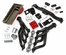 SWAP IN A BOX KIT-LS ENGINE INTO 70-74 F-BODY AUTO TRANS. W/ UNCOATED HEADERS