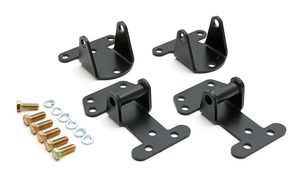 "Chevy All Steel Mounts with 2-1/8"" tall, 2-3/8"" wide tabs- ENGINE MOUNT KIT"