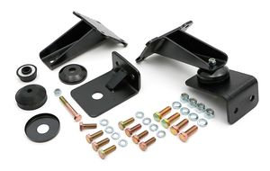 "Bolt-In, Biscuit Style Motor Mounts; Chevy/GM LS1 Series; 27""-33"" Framerails"