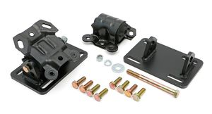 CHEVY LS Series or VORTECH into S10, S15 (2WD) - Motor Mount Kit