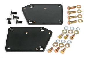 "ENGINE SWAP CONVERSION PLATES; 5/8"" FORWARD; LT (GEN5) INTO SB CHEVY CAR CHASSIS"