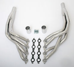 "LS in 1968-74 X-Body Headers; 1 7/8"" x 2"" Dia, Stepped Long Tubes-HTC"