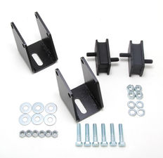 MOPAR BB into 1972-87 DODGE Truck (2WD or 4WD)- Motor Mount Kit