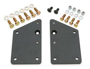 GM LS / VORTECH into SB CHEVY CHASSIS (Factory location)-Motor Mount Plates Only