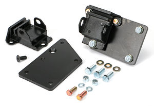 GM LS or VORTECH into SB CHEVY CHASSIS (Factory location)- Motor Mount Kit