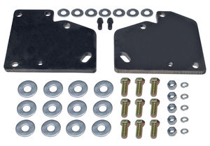 CHEVY 283-350 or LT1 into S10, S15 (2WD) with TH350- Motor Mount Plates Only