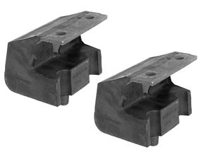 Heavy-Duty replacement FORD motor mount pads. For part #'s 4037 and 4017.