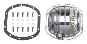 DANA 25-27-30 (10 Bolt), Polished Aluminum Differential Cover Kit