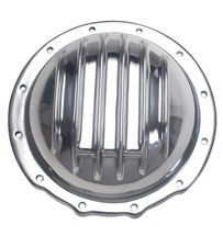 JEEP Corporate (12 Bolt) REAR; Polished Aluminum Differential Cover Kit