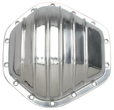 GM 2500 Trucks/SUVs (14 Bolt), Polished Aluminum Differential Cover Kit