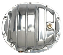 Dana 35 (10-Bolt) REAR, Polished Aluminum Differential Cover Kit