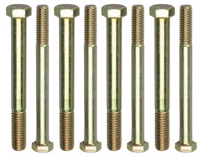 "ENGINE STAND BOLTS; 3/8""-16 x 4"" and 7/16""-14 x 4"" (4 each)-UNIVERSAL Fit"