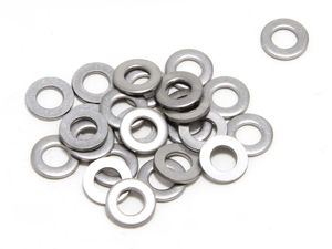 "1/4"" Valve Cover Flat Washers (25 per pkg.)- YELLOW ZINC"