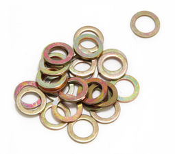 "3/8"" Valve Cover Flat Washers (25 per pkg.)- YELLOW ZINC"