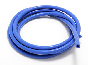 VACUUM HOSE (silicone); BLUE: 6MM Diameter- 10ft. Roll