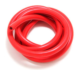 VACUUM HOSE (silicone); RED: 10MM Diameter- 10ft. Roll