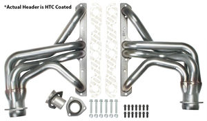 "STAINLESS STEEL Hedders; 1-5/8"" Tube Dia; 3"" Coll; FULL LENGTH Design-HTC Coated"