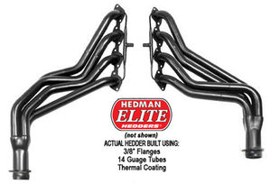 "ELITE Hedders; 1-3/4"" Tube Dia; 3"" Coll; FULL LENGTH Design w/A.I.R."