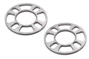 "4 LUG Disc Brake Spacers; 4"" to 4-1/2"" Bolt Circle Diameters; 1/4"" Thick (Pr)"